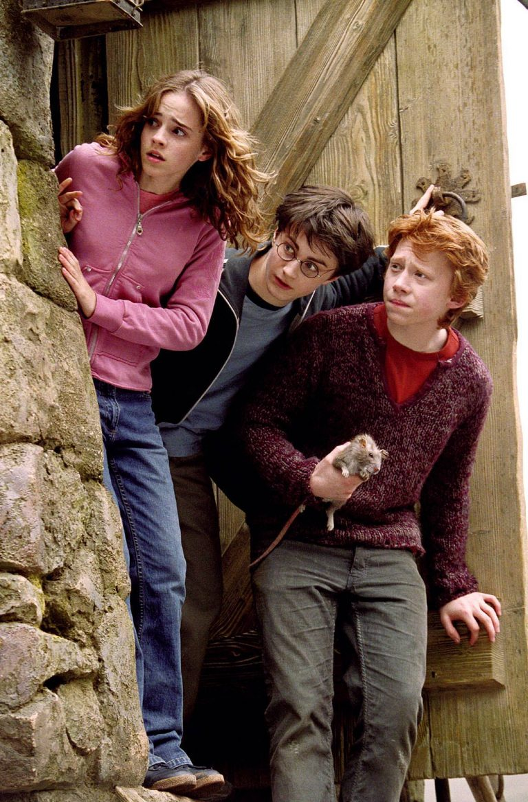 Prisionero de Azkaban el trio protagonista