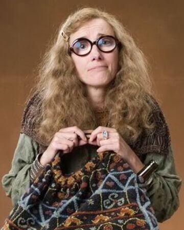 personaje estereotipo Sybill Trelawney