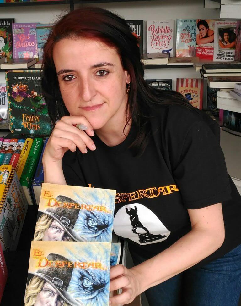 Paloma F. Cabrera en la Feria del Libro de Fuenlabrada
