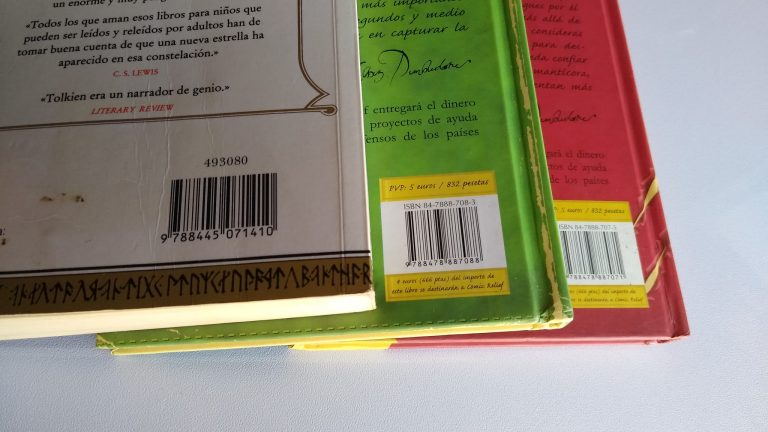 Ejemplo de ISBN libros